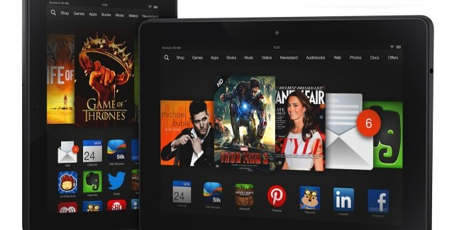 'Mayday! Mayday!', Kindle Fire HDX schiet te hulp