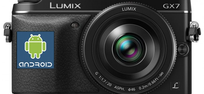 Android-camera: Panasonic is er nog niet over uit