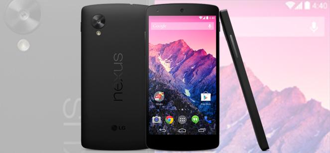 Nexus 5 ziet eindelijk het daglicht