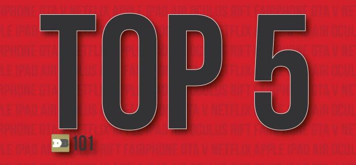 De 5 beste gadgets van 2013