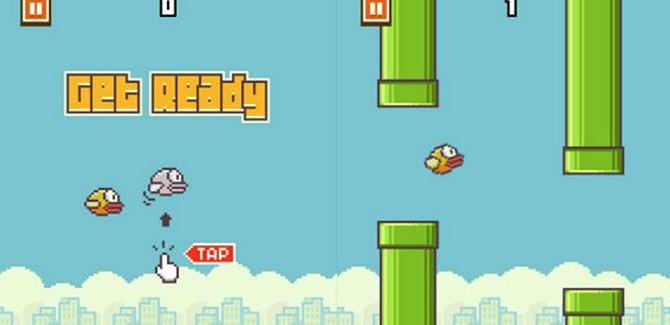 Te koop: iPhone met Flappy Bird