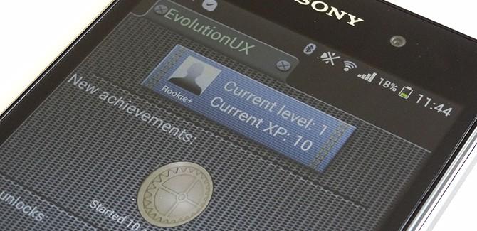 Sony's Evolution UI ziet je smartphone als spelletje