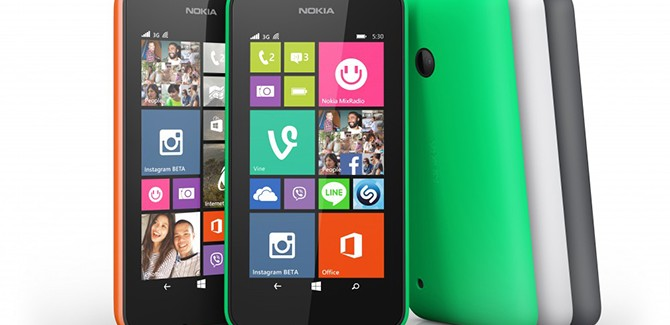 Lumia 530 van Microsoft is spotgoedkoop