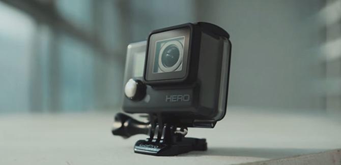 Nieuwe GoPro Hero4 komt eraan