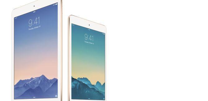 Apple presenteert zoals verwacht iPad Air 2 en iPad Mini 3