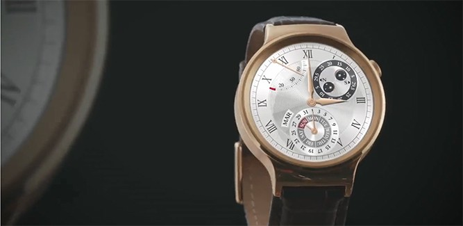 Smartwatch numero uno: Huawei Watch [update + video]