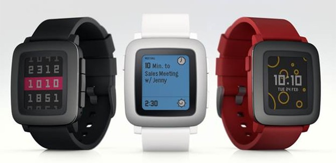 Pebble Time smartwatch heeft geen 'looks' nodig