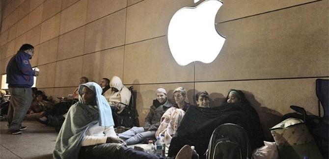 Traantje wegpinken: nooit meer rijen voor de Apple Store