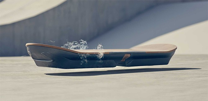 Lexus' hoverboard is echt. En toch ook niet