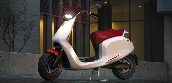 Bolt mobility Appscooter e-scooter