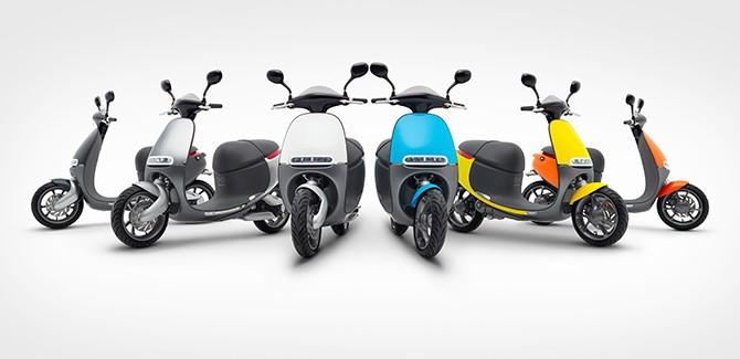 Altijd opgeladen e-scooters van Gogoro komen naar Amsterdam