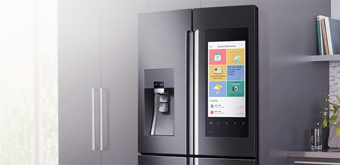 Fridge fight! Samsung en LG tonen smart-koelkast