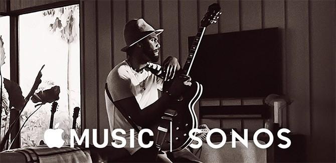 Apple music sonos logo