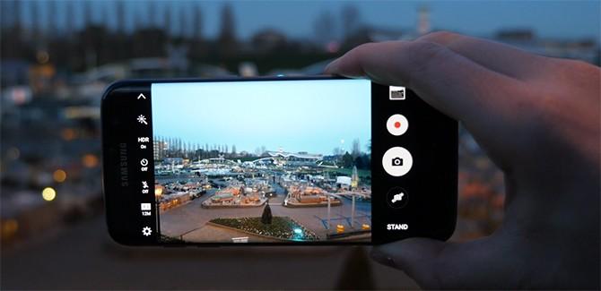 Samsung Galaxy S7 Edge camera