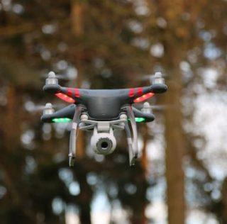Drie vette dronevideo's van totale leegte