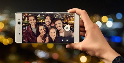 Sony Xperia XA Ultra selfie cam