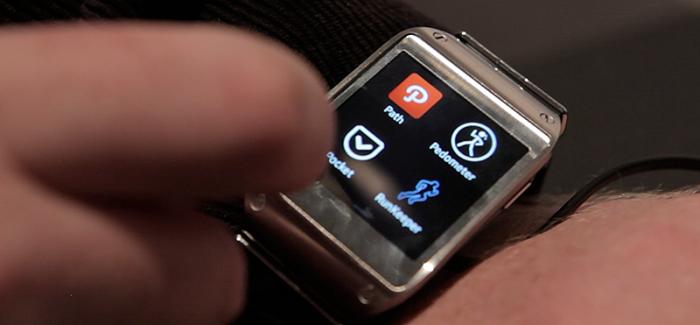 Samsung Galaxy Gear: lekker bij de tijd