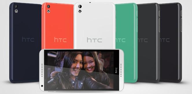 MWC 2014: HTC toont grote middenklasser Desire 816