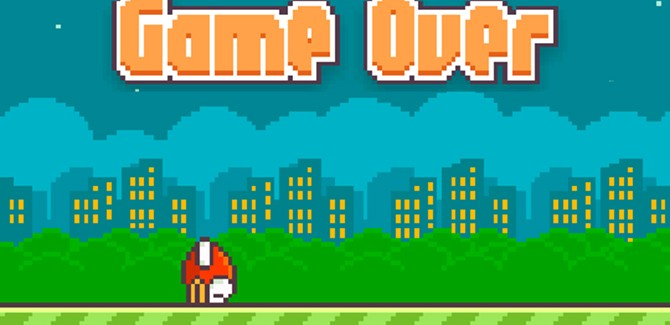 'Flappy Bird-maker haalt game offline'