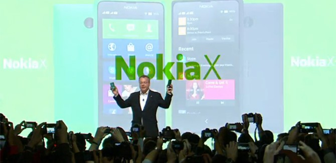 MWC 2014: Nokia X kaapt Android