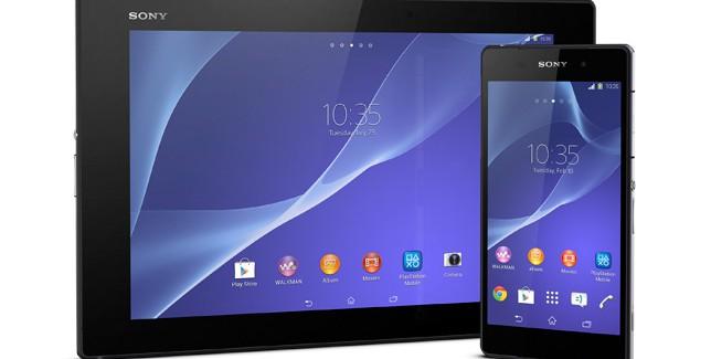 MWC 2014: Sony presenteert Z2 en Z2 Tablet