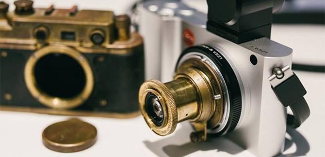 Ultiem instagram: stokoude lens op je nieuwe Leica