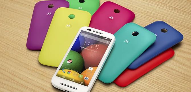 Motorola lanceert Moto E: waar doen ze het van?