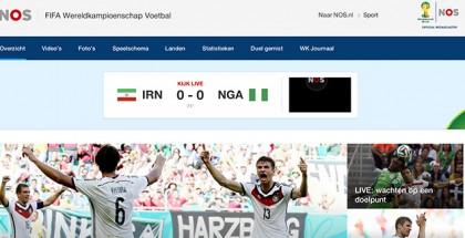 NOS WK 2014 in buitenland kijken