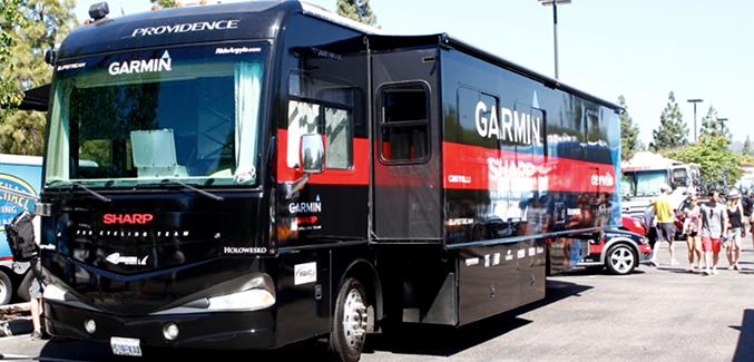 Garmin-Sharp bus
