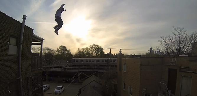 De ziekste GoPro-video ooit