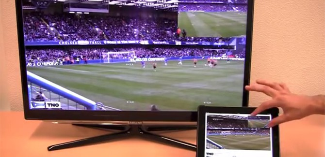 Live-cameraman spelen dankzij 'tiled streaming'