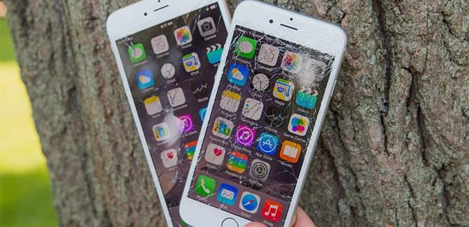 Buigen en barsten: kan de iPhone 6 stuk?
