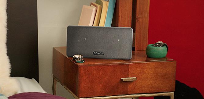 Sonos-systeem nu helemaal draadloos na update