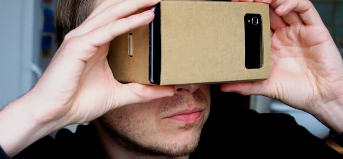 Google Cardboard Camera heeft handicap