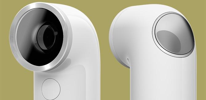 HTC RE: telefoonfabrikant gaat voor snorkelcamera