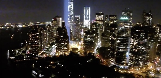 Drone-video: New York in optima forma