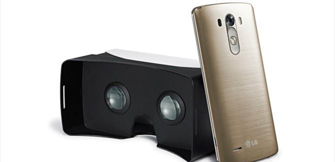 Gratis VR-headset bij LG G3