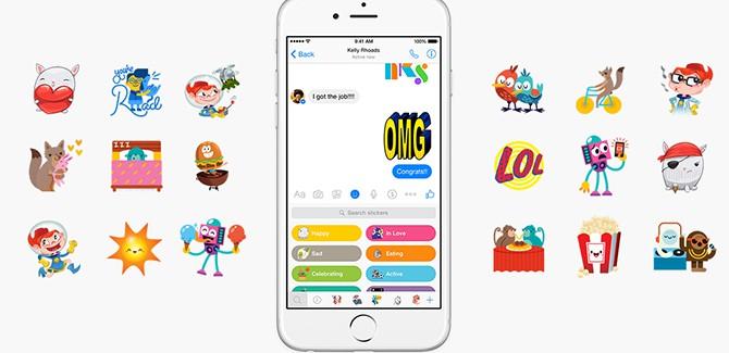 Facebook maakt van nieuwe Messenger een .gif-kermis