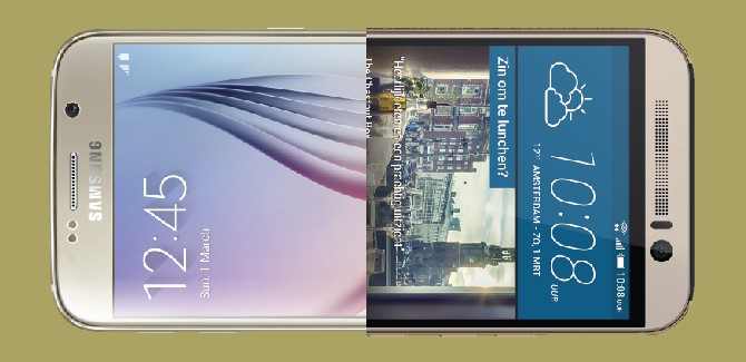 Galaxy S6 vs One M9: specs battle