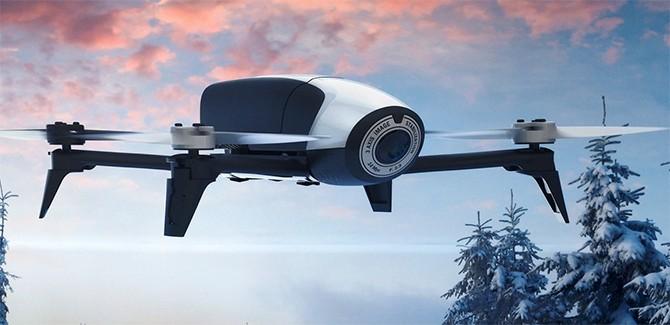 Parrot Bebop 2 drone doet 't langer