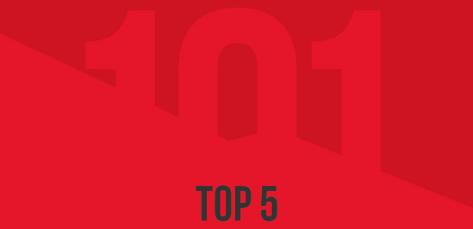 Draadbreuk 101 van 2015: top 5