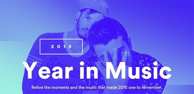 Spotify #yearinmusic 2015