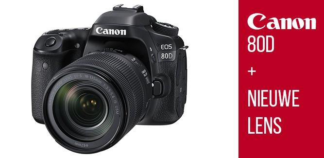 Canon lanceert dikke gear: EOS 80D + nieuwe lens
