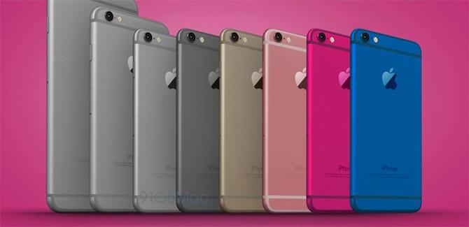 De wandelgangen met roze iPhone 5se, Galaxy S7 en Twitter