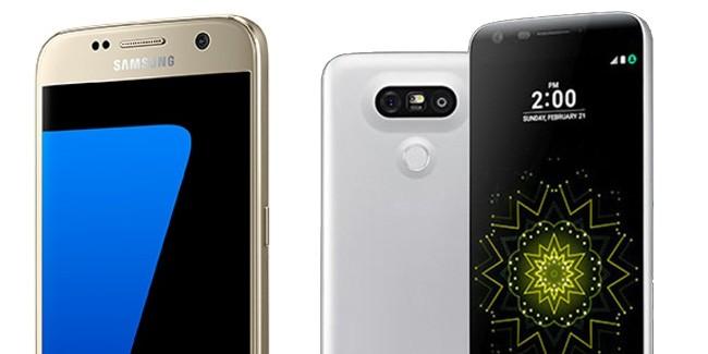 Samsung Galaxy S7 of LG G5: de battle