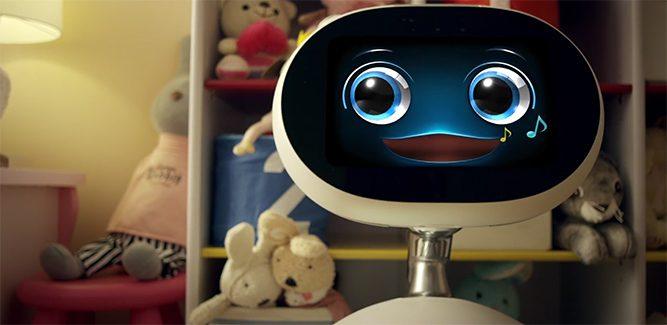 Gespot: bizarre robot van ASUS!
